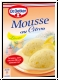Dr. Oetker Mousse Zitrone